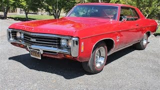 Stunning Resto on this 1969 Chevrolet Impala 427 SS for Sale