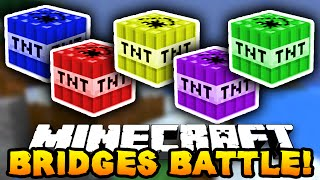 "getlinkyoutube.com-Minecraft BRIDGES BATTLE ""TNT SQUAD!"" #6 - w/ PrestonPlayz & MrWoofless"