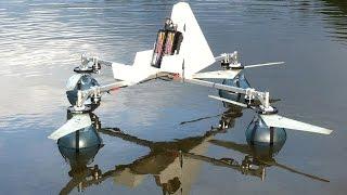 getlinkyoutube.com-Efficient propeller / amphibious quadcopter build