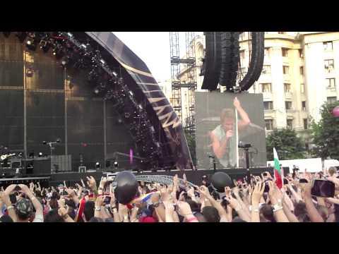 BON JOVI Bucuresti 2011 - INTRO Raise Your Hands LIVE HD 10.07