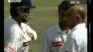 getlinkyoutube.com-SOURAV GANGULY vs GLENN McGRATH - 1996 DELHI..............