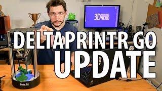 getlinkyoutube.com-Deltaprintr Go 3D Printer Review Update