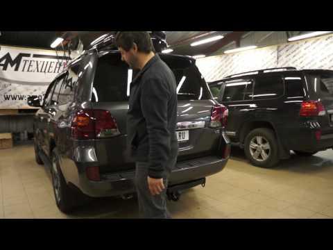 Автоматическое открывание багажника Toyota Land Cruiser 200