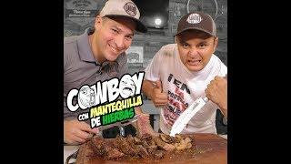 COWBOY STEAK CON MANTEQUILLA DE HIERBAS