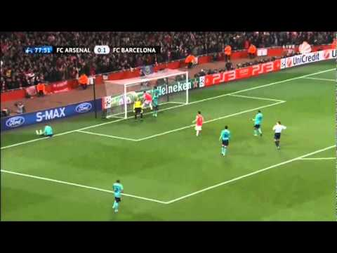Arsenal vs Barcelona 2011 (2-1)
