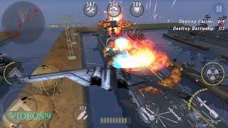 getlinkyoutube.com-GUNSHIP BATTLE : Operation Atlantis - B2 Spirit