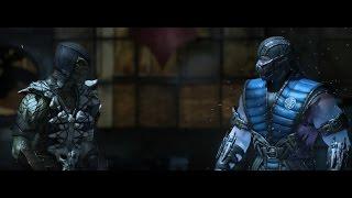 getlinkyoutube.com-Mortal Kombat X: Reptile VS Sub-Zero DUBLADO PT/B