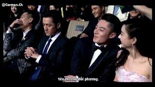 [Vietsub] Đêm hội Iqiyi 2015 - Phỏng vấn Hoắc Kiến Hoa , Triệu Lệ Dĩnh (cut)