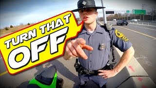getlinkyoutube.com-Pulled Over by the Coolest COP EVER!!!