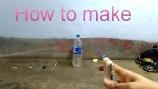 HOW TO MAKE POWERFULL MINI MATCH BOX GUN.....//GOLDEN BOY