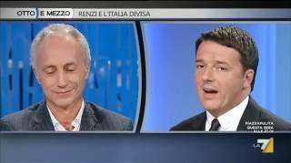 Marco Travaglio Vs. Matteo Renzi
