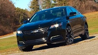 Chevrolet Impala Midnight Edition 2016 Review