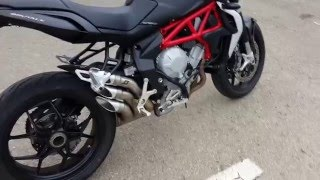 getlinkyoutube.com-Walkaround and Start up MV Agusta Brutale 675 QD Exhaust Escape QD
