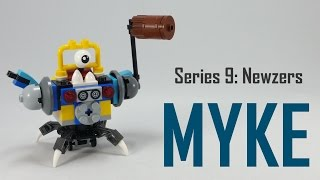 getlinkyoutube.com-How To Build   LEGO Mixels   Series 9   41580 Myke