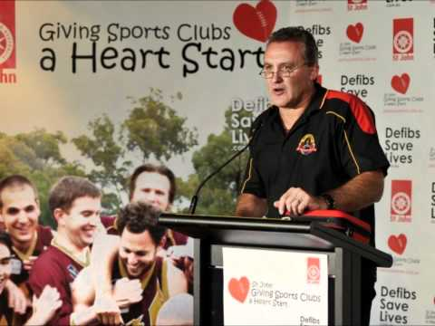 St John Defibs Launch | MCG | Behind the Scenes