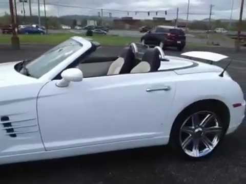 2005 chrysler crossfire roadster convertible limit