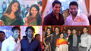 getlinkyoutube.com-Celebs @ Raghavendra Rao's Son Wedding Reception Video - Exclusive
