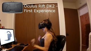 getlinkyoutube.com-Oculus Rift DK2 - First Experience - First Time Impressions