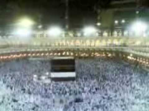 EXCLUSIVE!!! MAKKAH SHARIF NIGHT VIEW WITH AZAN..