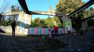 Graffiti Time Lapse Video - Tomé Chile