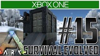 getlinkyoutube.com-Ark Xbox One Gameplay!! Ep 15 - THE PERFECT RAFT BASE! (Base Tips)
