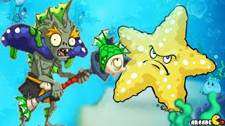 getlinkyoutube.com-Plants vs Zombies 2 Online - East Sea Dragon Palace New Plants Zombies Revealed!