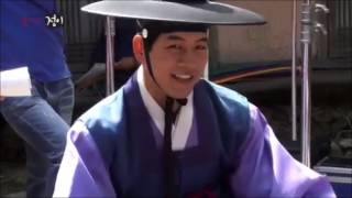getlinkyoutube.com-Goddess Of Fire Ep 20 BTS - Lee Sang Yoon with child actors