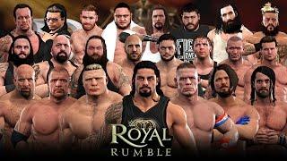 getlinkyoutube.com-WWE 2K17 Royal Rumble - 30 Man Royal Rumble Match!