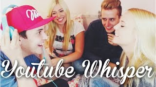 getlinkyoutube.com-YOUTUBER WHISPER CHALLENGE ! mit Bibi, Julian & Dagi | LIONTTV
