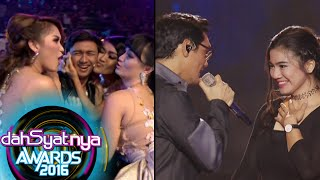 getlinkyoutube.com-Afgan & Felycia 'Knock Me Out' Buat Hito & Cecepi Cemburu [Dahsyat Awards 2016] [25 Jan 2016]