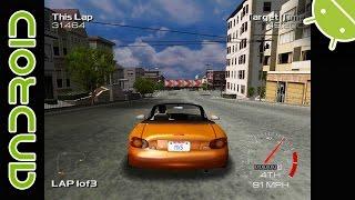 getlinkyoutube.com-Metropolis Street Racer   NVIDIA SHIELD Android TV (2015)   Reicast Emulator [1080p]   Dreamcast