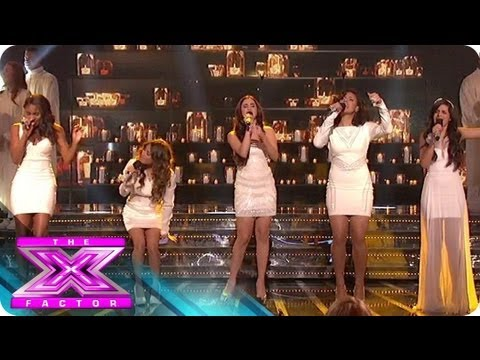 Fifth Harmony's $5 Million Song - THE X FACTOR USA 2012