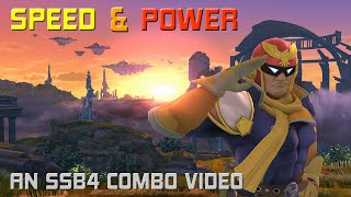 SPEED & POWER - An SSB4 Captain Falcon Combo Video