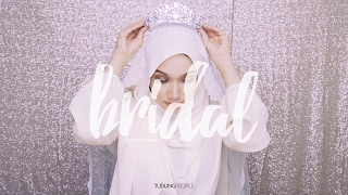 Wedding Hijab Tutorial: Side Sweep with Tiara