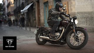 getlinkyoutube.com-The all-new Triumph Bobber – pure Bonneville hot rod - UK