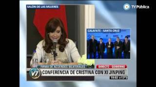 Argentina y China firmaron su Asociación Estratégica Integral