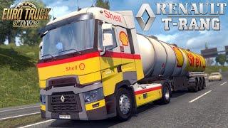 Euro Truck Simulator 2 mod truck RENAULT T RANGE