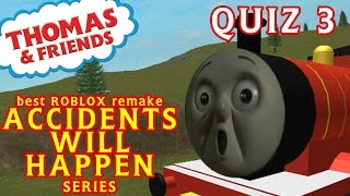 getlinkyoutube.com-Accident will Happen | Thomas and Friends | Best Roblox Remake Quiz