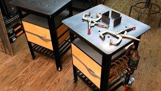 getlinkyoutube.com-Design Rhyme | Mobile Welding Table | VÄLDBENSH