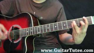 Linkin Park - New Divide, by www.GuitarTutee.com