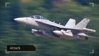 getlinkyoutube.com-Boeing - EA-18G Growler Airborne Electronic Attack Aircraft [720p]