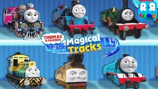 getlinkyoutube.com-Thomas and Friends: Magical Tracks - Kids Train Set (By Budge Studios) - Unlock All Train
