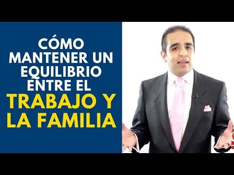 Cómo mantener un equilibrio entre el trabajo y la familia | Curso de ventas con Carlos Flores