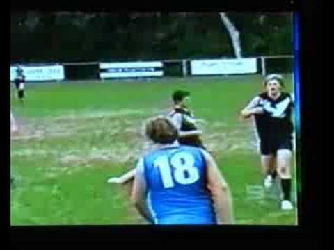 NUDE STREAKER Channel 9 Footy Show Almost Football Legends SCHWANZKUSS 11698 ...