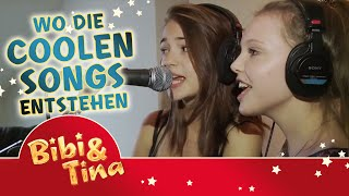 getlinkyoutube.com-Bibi & Tina MÄDCHEN GEGEN JUNGS - wo die coolen Songs entstehen...