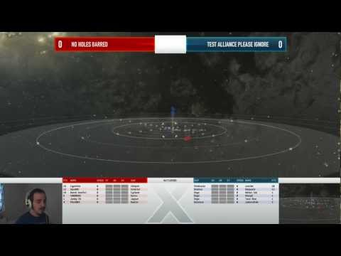 EVE Online - AT10 Day 3 Match 2 - No Holes Barred vs Test Alliance Please Ignore