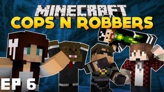 getlinkyoutube.com-Minecraft   Cops 'n' Robbers   Episode 6 ft SkyDoesMinecraft, Jerome, BajanCanadian & Caveman