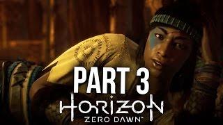 HORIZON ZERO DAWN Walkthrough Part 3 - MOTHER'S HEART (PS4 Pro Gameplay Let's Play)