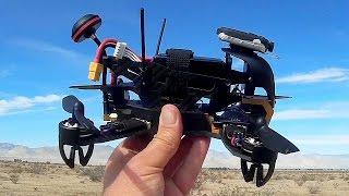 getlinkyoutube.com-Walkera F210 Racing Drone Flight Test Review