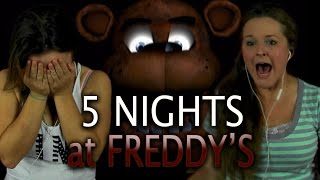 GIRLS VS FREDDY | 5 Nights at Freddy's  | 1